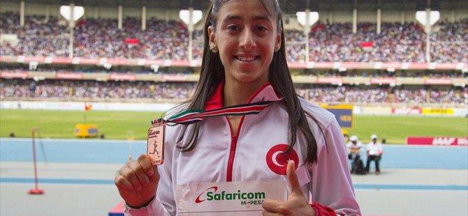 Kenya'da Mizgin Ay Bronz Madalya kazandı