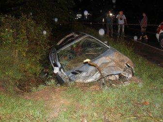 Kocaeli'de Otomobil Su Kanalına Uçtu: 5 Yaralı