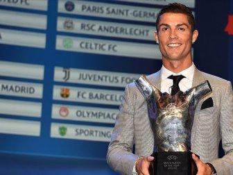 Cristiano Ronaldo Avrupa'da Yılın Futbolcusu Seçildi