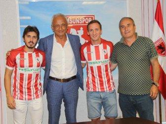 Ahmet Cebe ve Ömer Kandemir, Samsunspor'da