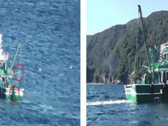 Zonguldak'ta Yasa Dışı Avcılık Yapan Tekneye 24 Bin Lira Ceza