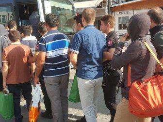 Samsun'da ByLock'tan 15 Kişi Tutklandı