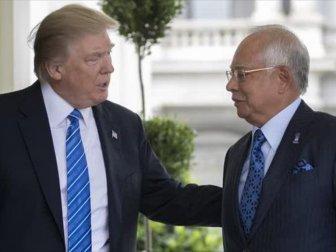Trump, Malezya Başbakanı Necip Rezak İle Görüştü