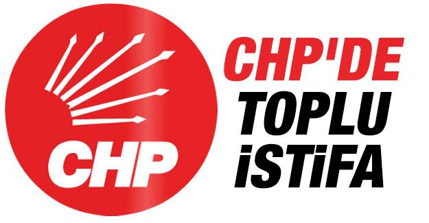 CHP'de Baskıyı Kabul etmiyoruz diyerek topluca istifa ettiler!
