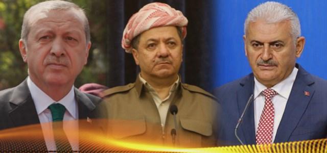 ABD ve İsrail Kuklası Barzani'den Küstah Türkiye Mesajı!