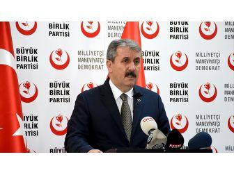 Bbp Genel Başkanı Destici: Abd İle Vize Sorununun Müsebbibi Türkiye Değildir