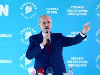 Numan Kurtulmuş'tan Kürt Devleti Ve Terör Koridoru Tepkisi