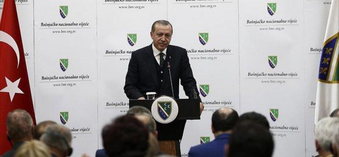 Erdoğan'dan Sırbistan'da birlik çağrısı! Birlikte Kuvvet var