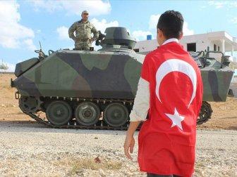 Türk Silahlı Kuvvetleri İdlib seferini gerçekleştirirken son dakika desteği