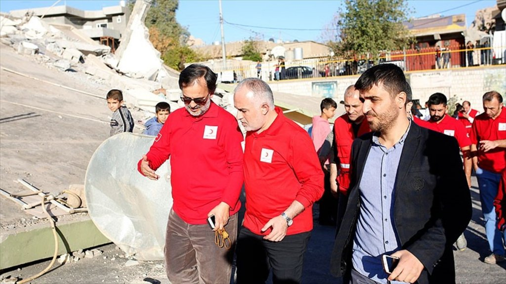 Kızılay Genel Başkanı Kınık, Depremin Vurduğu Derbendihan'da İncelemelerde Bulundu