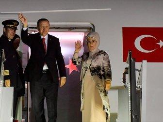 Türkiye Cumhuriyeti Cumhurbaşkanı Erdoğan Katar'da