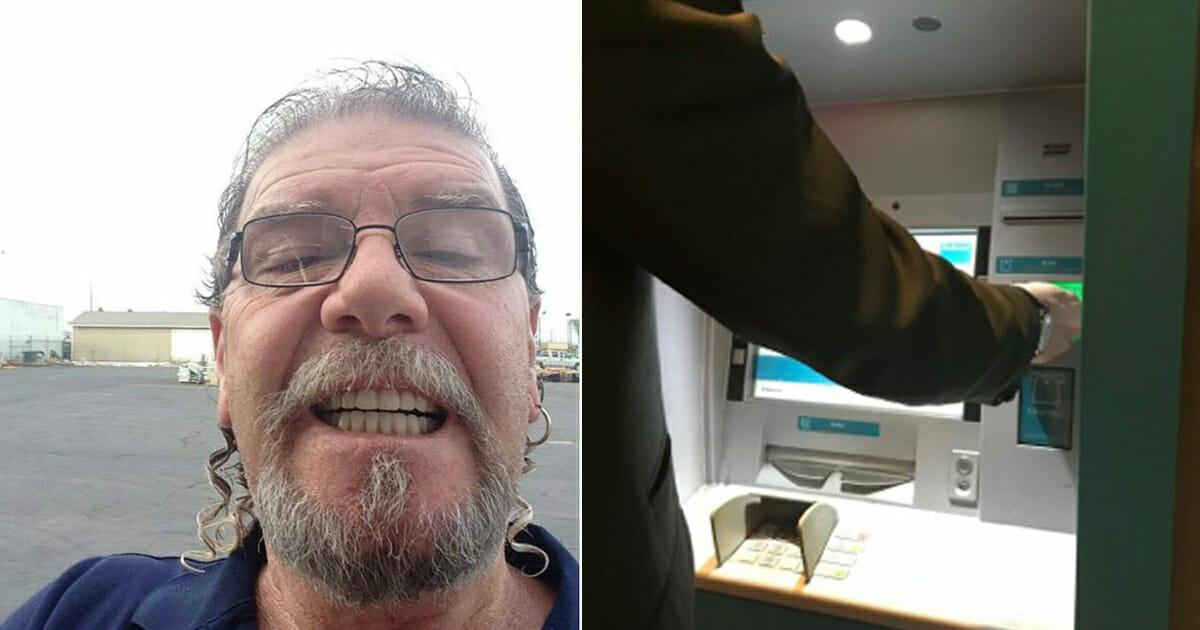 ATM'den para çekerken tuhaflığı gördü – Hemen Bankanın İçine Koşup Gerekeni Yaptı