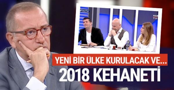 Tehlike büyük! Astrologlar 2018'in falına baktı Fatih Altaylı fena oldu