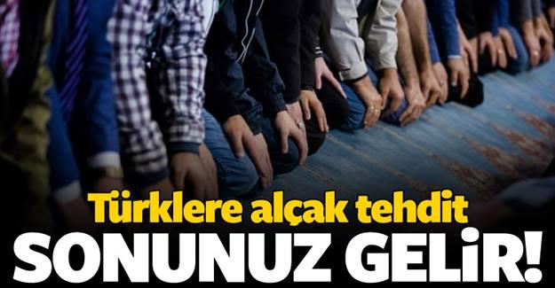 Avrupa'dan büyük rezalet! Türklere Sonunuz gelir uyarısı