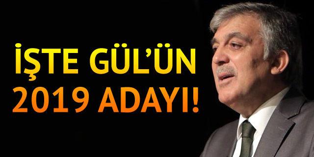 Bir zamanlar Gül'e en yakın isimden flaş Açıklama! 2019'da Erdoğan'ın rakibi..
