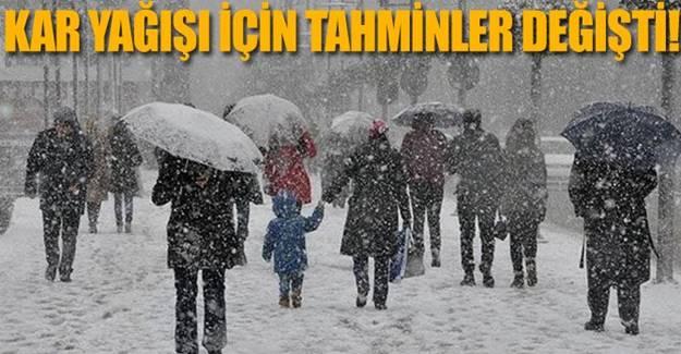 İstanbul İçin Meteoroloji'den Son dakika uyarısı