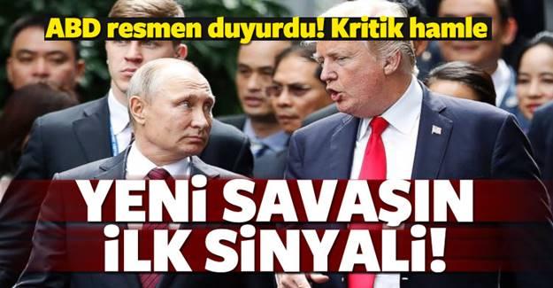 ABD'den gerilimi tırmandıracak skandal hamle!