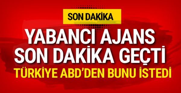 Reuters iddia etti! Türkiye ABD'ye bu tekliflerde bulundu
