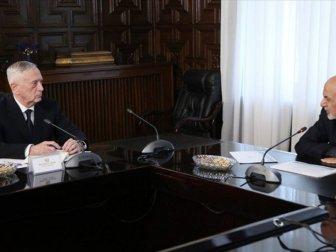 Abd Savunma Bakanı Mattis Afganistan'da temaslarda bulunuyor