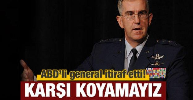 ABD'li general itiraf etti! Karşı koyamayız!