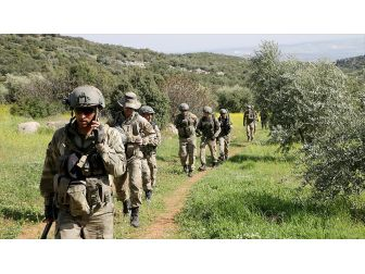 Tsk Ve Öso Afrin'de Güvenliği Güçlendiriyor