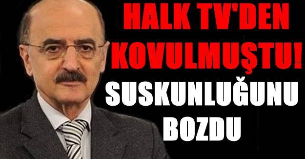Halk TV'den ayrılan Hüsnü Mahalli'den açıklama