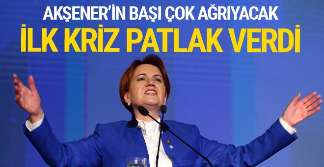 İYİ Parti ve CHP'de ilk kriz!