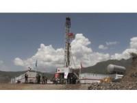 Çukurca'da Petrol Kuyusu İçin İlk Kazma Vuruldu