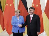 Almanya Başbakanı Angela Merkel, Çin Devlet Başkanı Xi Jinping İle Görüştü