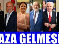 'Gaza getirmek istemem ama' dedi oy oranını paylaştı