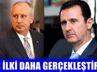 Muharrem İnce'den Esad Hamlesi!
