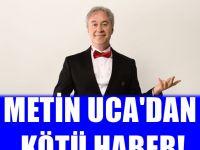 Metin Uca trafik kazası geçirdi