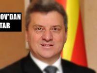 Makedonya Cumhurbaşkanı İvanov'dan iftar! İftara Büyükelçi Tülin Erkal Kara'da katıldı