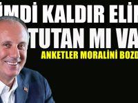 Muharrem İnce'den Erdoğan'a: Şimdi kaldır elini tutan mı var?