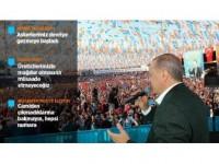 Cumhurbaşkanı Erdoğan: Askerlerimiz Münbiç Etrafında Devriye Gezmeye Başladı