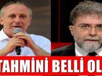 Ahmet Hakan İnce'nin oy oranı tahminini açıkladı