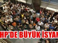 CHP önünde 'yönetim aşağı' sloganı