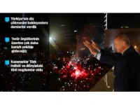 Cumhurbaşkanı Erdoğan: Bu Seçimin Galibi Demokrasidir, Milli İradedir
