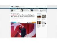 İsrail Basını Erdoğan'ın Seçim Başarısını Hazmedemedi