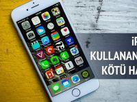 Türkiye'deki İPHONE kullanıcılarına soğuk duş