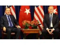 Erdoğan İle Trump Suriye'yi Görüştü