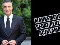 """""""Bayrak direklerine asacağız"""" diyen Sedat Peker'in beraat kararının gerekçesi"""