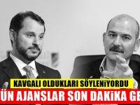 Süleyman Soylu ile Berat Albayrak'dan yeni görüntü