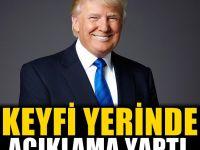 ABD Başkanı Trump'dan Flaş Açıklama