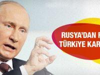 Kur Saldırıları Sonrası Rusya'dan Türkiye'ye jest