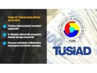 Tobb Ve Tüsiad'dan Ortak Açıklama: Türkiye Ekonomisinin Temelleri Sağlamdır