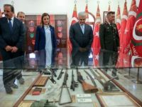 TBMM Başkanı Binali Yıldırım, Kıbrıs Türk Barış Kuvvetleri Komutanlığında