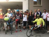 'Sessiz Çığlık' Bisiklet Etkinliği İsviçre'ye Ulaştı