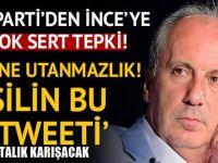 Bülent Turan'dan restleşme : Bu ne utanmazlık! Silin bu tweeti