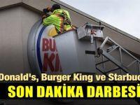 Milyonlarca müşterisi olan Mc Donald's ve Burger King'e karşı flaş hamle